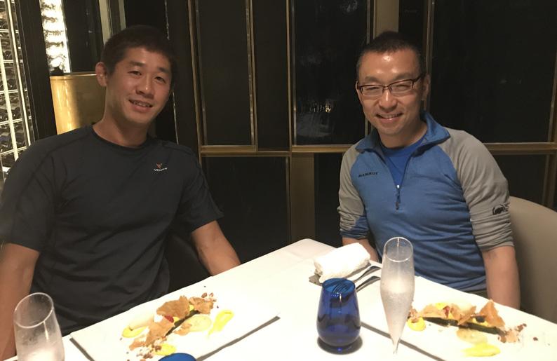 2、3年前に会った時とは別人のような、穏やかで幸せそうな 山崎社長がそこにいました。